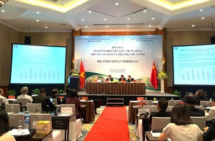 Thúc đẩy hợp tác sản xuất và tiêu thụ chè, cà phê giữa Việt Nam và Trung Quốc