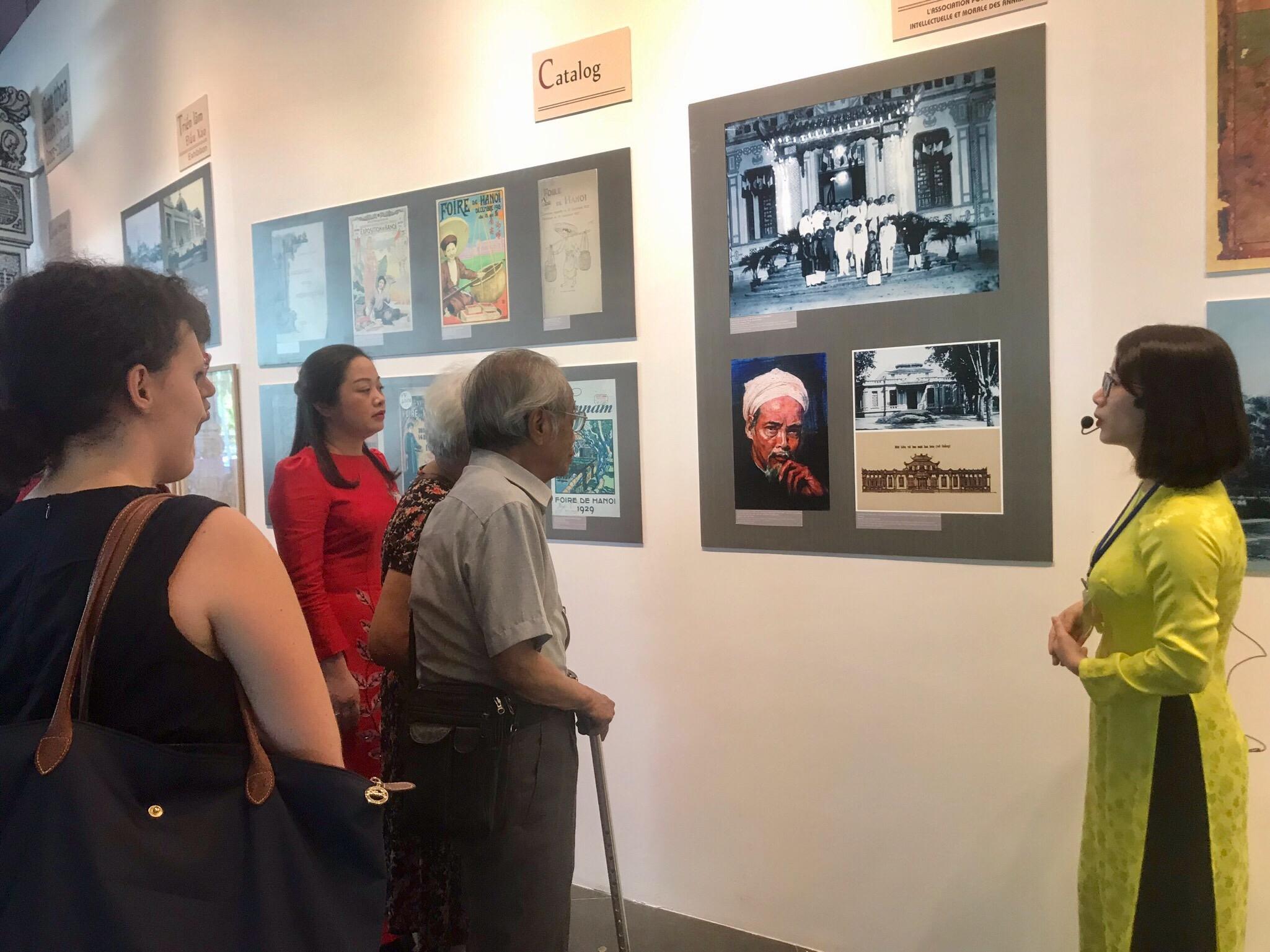 Thưởng lãm nghệ thuật ứng dụng và đa phương tiện tại Bảo tàng Hà Nội