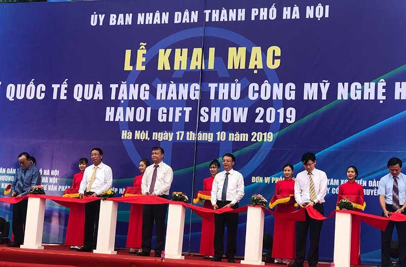 Khai mạc Hanoi Gift Show 2019
