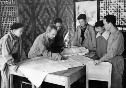 Trung ương Đảng và Chủ tịch Hồ Chí Minh chỉ đạo chiến dịch Biên giới