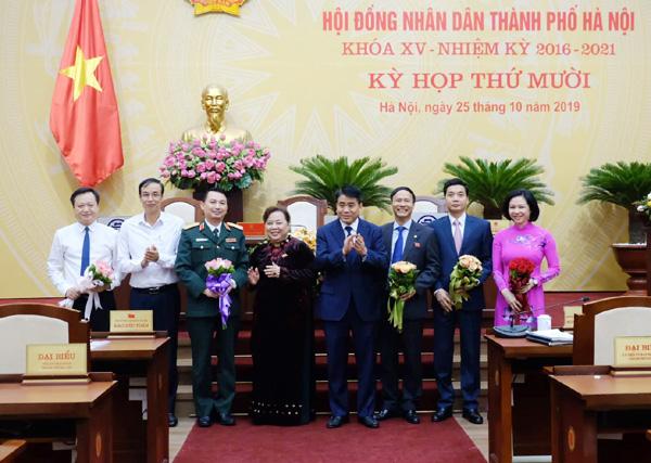 Miễn nhiệm nhiều chức danh Ủy viên UBND TP. Hà Nội