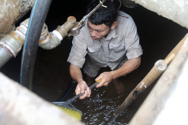 Hà Nội công bố kết quả kiểm tra chất lượng nước Nhà máy nước Sông Đà