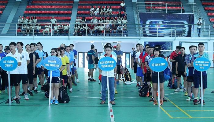 Giao lưu thể thao chào mừng 70 năm Ngày truyền thống Ban Đối ngoại Trung ương