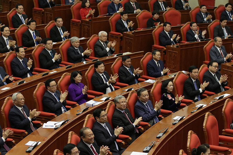 Thông báo Hội nghị lần thứ 11, Ban Chấp hành Trung ương Đảng khóa XII