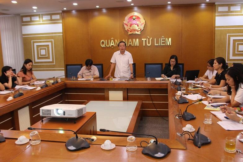 Quận Nam Từ Liêm: Họp khẩn để đẩy mạnh triển khai các biện pháp phòng, chống dịch sốt xuất huyết