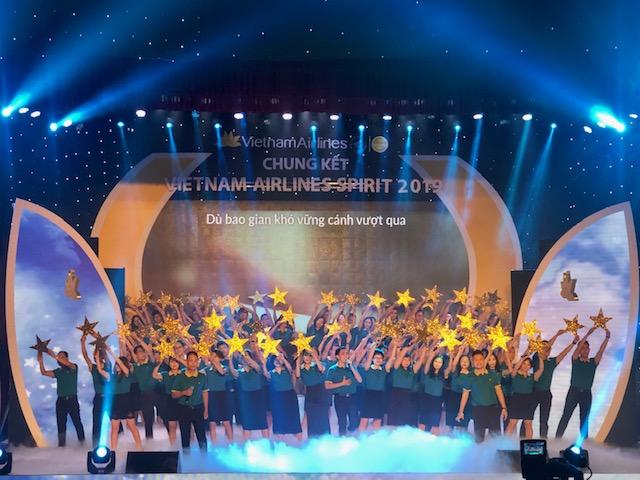 Chung kết hội diễn nghệ thuật Vietnam Airlines Spirit 2019