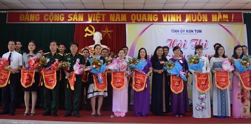 Kon Tum: Khai mạc Hội thi Báo cáo viên giỏi cấp tỉnh năm 2019