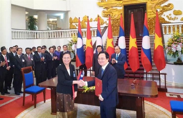 Chặng đường mới trong hợp tác giáo dục Việt - Lào