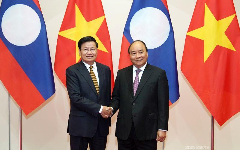 Sự hợp tác toàn diện Việt-Lào mãi mãi xanh tươi, đời đời bền vững
