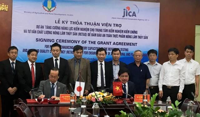 Nhật Bản hỗ trợ Việt Nam kiểm soát an toàn thực phẩm