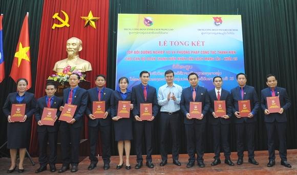 Vun đắp tình hữu nghị, đoàn kết giữa tổ chức Đoàn hai nước Việt - Lào