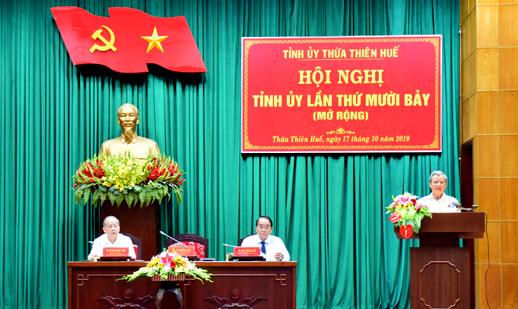 Thừa Thiên Huế tập trung chuẩn bị Đại hội Đảng bộ các cấp