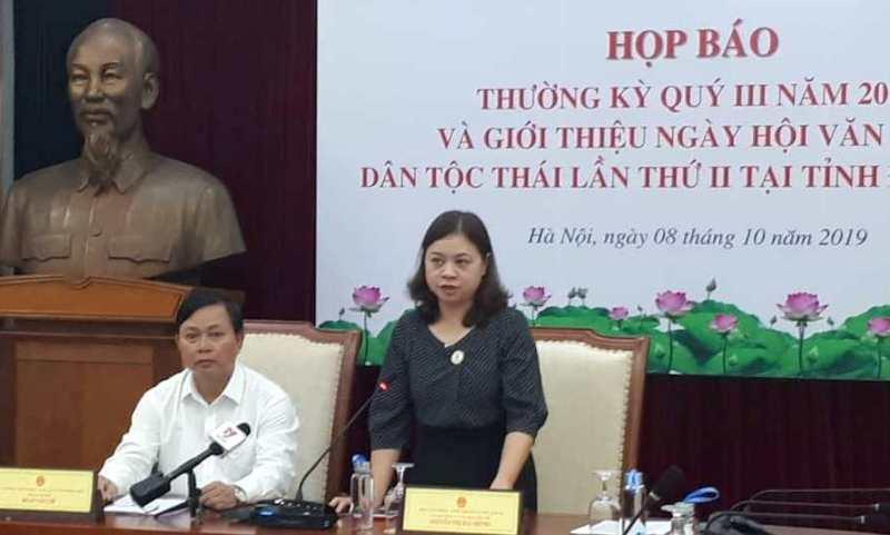 600 nghệ sĩ, nghệ nhân tham gia Ngày hội văn hóa dân tộc Thái lần thứ II