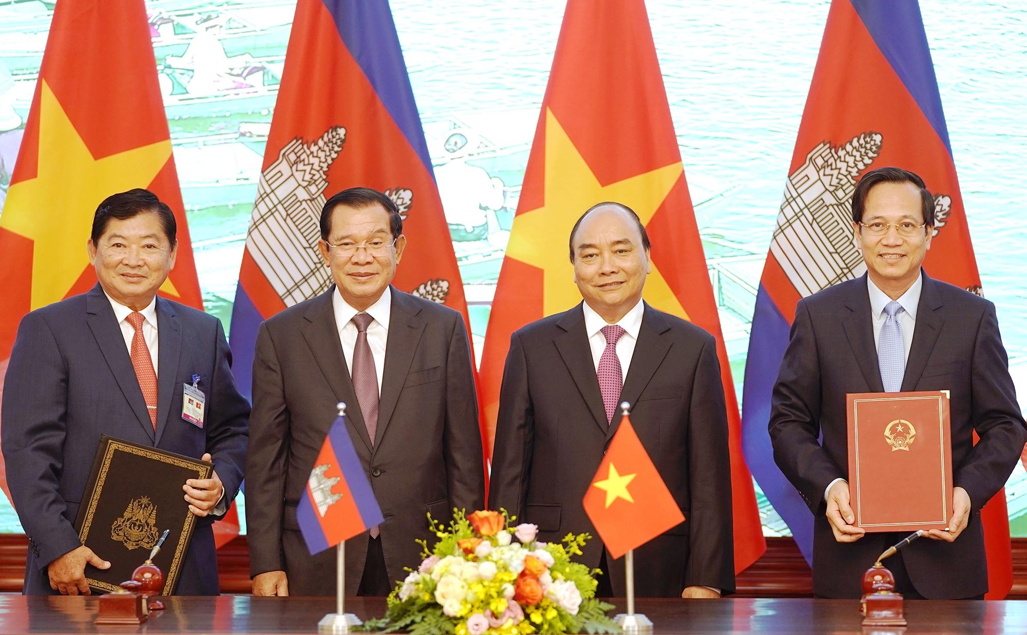 Quan hệ Việt Nam - Campuchia là quan hệ anh em gắn kết, bền chặt