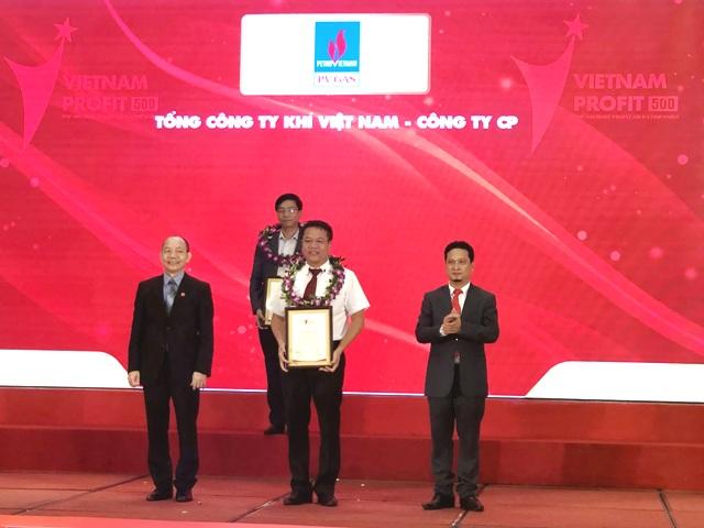 PV GAS đứng thứ 6 trong Top 500 doanh nghiệp lợi nhuận tốt nhất Việt Nam