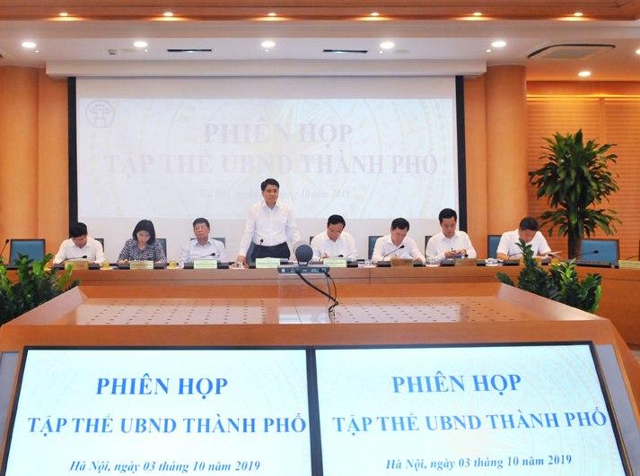 UBND thành phố Hà Nội cho ý kiến bảo vệ môi trường làng nghề