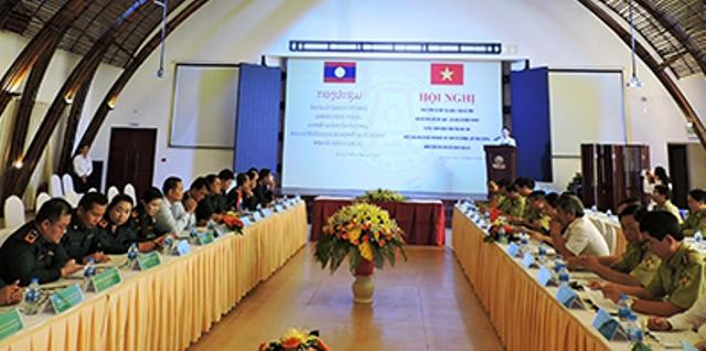Việt Nam - Lào tăng cường hợp tác quản lý bảo vệ rừng khu vực biên giới