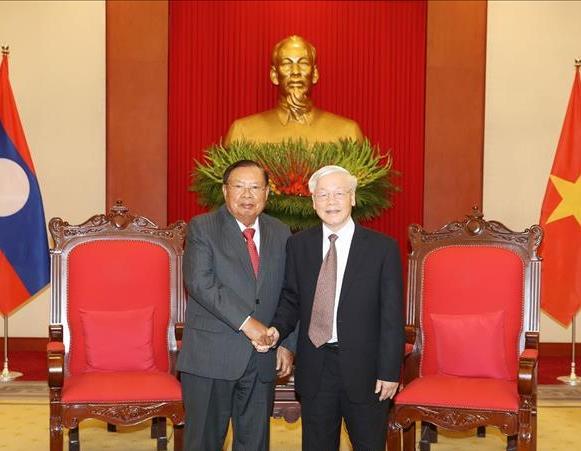 Quan hệ đoàn kết đặc biệt Lào-Việt Nam ngày càng phát triển sâu rộng