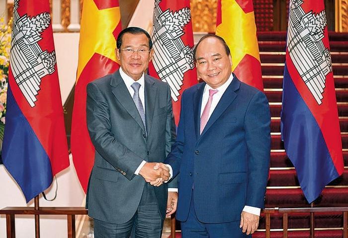 Quan hệ Việt Nam - Campuchia tiếp tục phát triển tốt đẹp