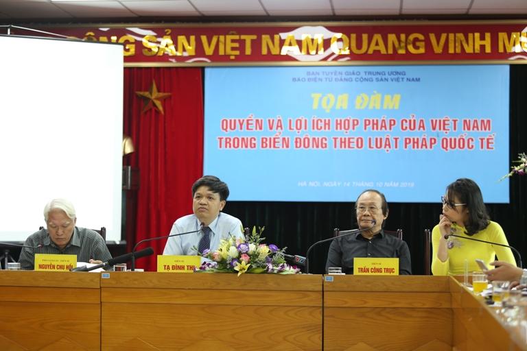Khẳng định quyền và lợi ích hợp pháp của Việt Nam trong Biển Đông
