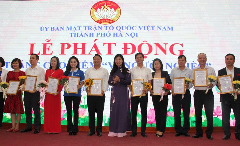 """Hà Nội: Hơn 7,2 tỷ đồng ủng hộ Quỹ """"Vì người nghèo"""" năm 2019"""