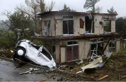"""Thủ tướng Nhật Bản cân nhắc tuyên bố siêu bão Hagibis là một """"thảm họa thiên nhiên tàn khốc"""""""