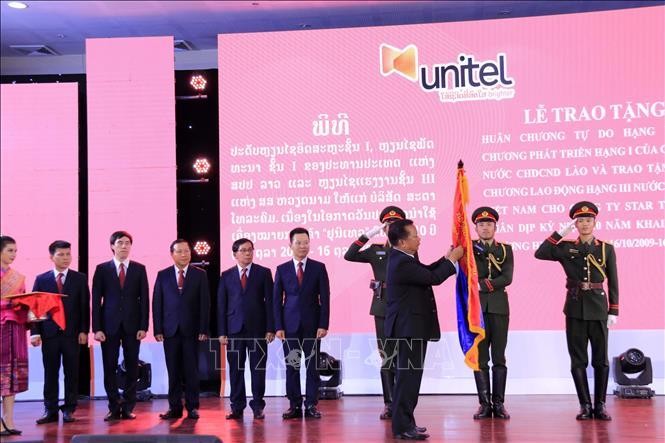 Unitel, biểu tượng thành công mẫu mực trong hợp tác kinh tế Việt - Lào