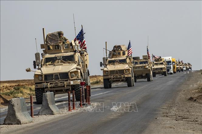 Mỹ đưa quân tăng viện vào miền Đông Syria để bảo vệ khu vực giàu dầu mỏ