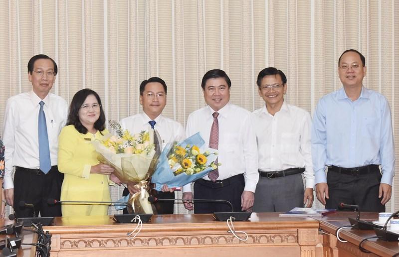 UBND TP Hồ Chí Minh điều động, bổ nhiệm nhân sự ở một số đơn vị