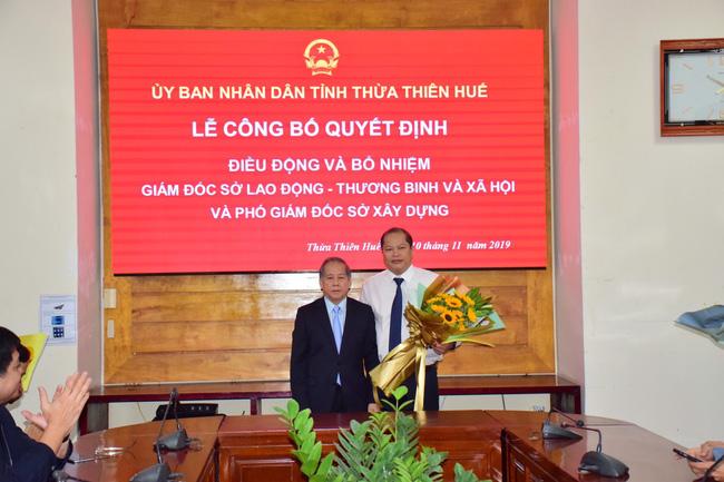 Thừa Thiên Huế bổ nhiệm Giám đốc Sở Lao động, TB & XH