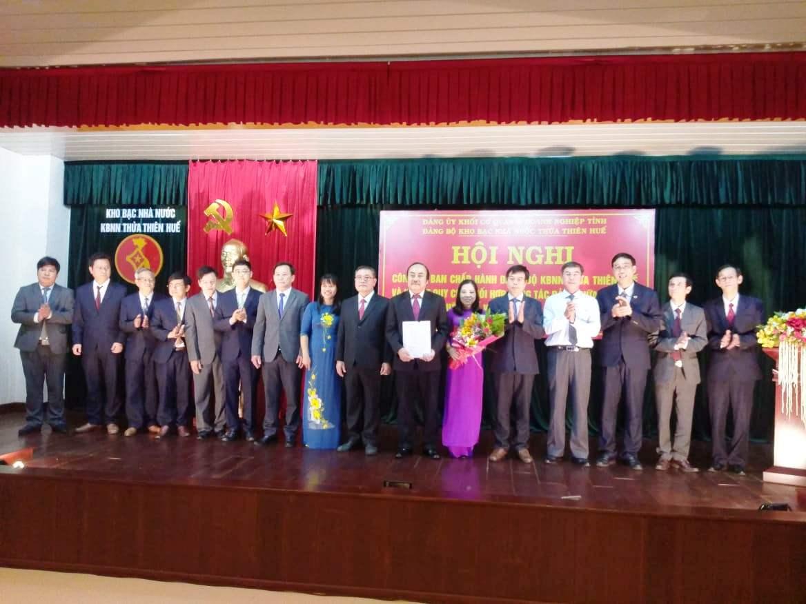 Thừa Thiên Huế: Thành lập Đảng bộ Kho bạc Nhà nước tỉnh