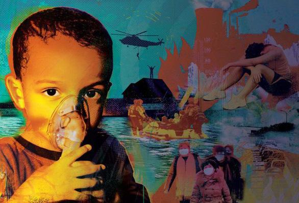 Biến đổi khí hậu đã gây tổn hại đến sức khỏe của trẻ em thế giới