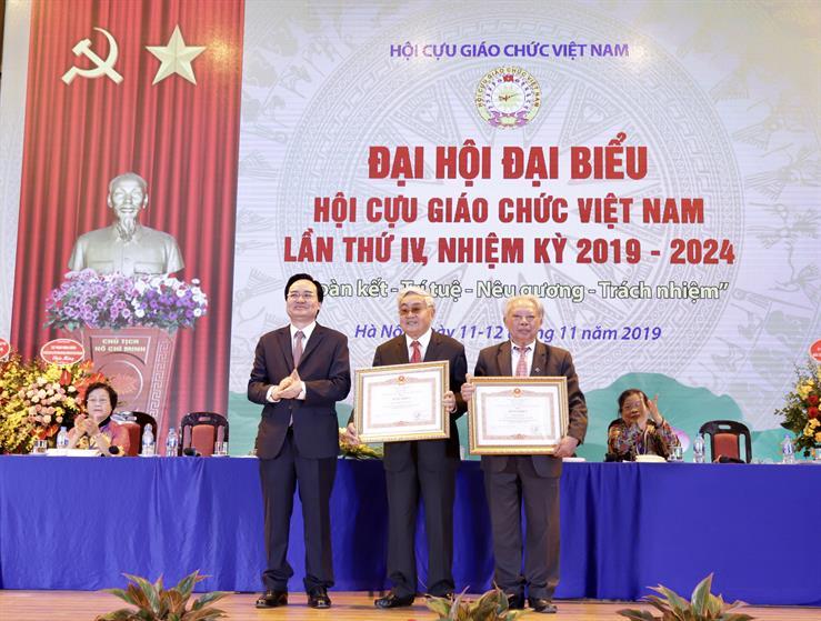 Đại hội Hội Cựu giáo chức Việt Nam lần thứ IV, nhiệm kỳ 2019-2024