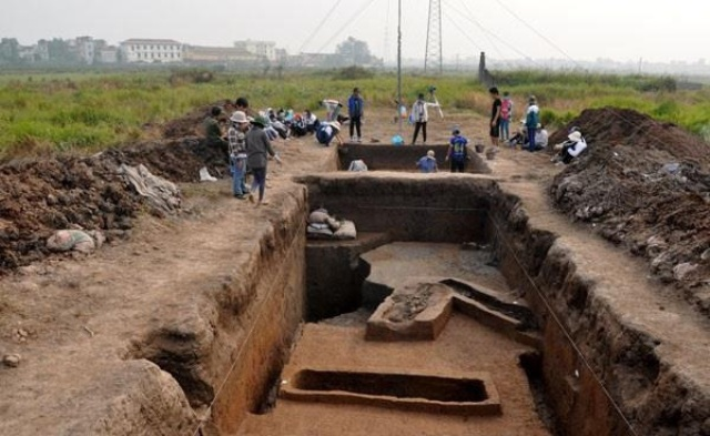 Đề nghị thành phố Hà Nội bảo vệ di chỉ khảo cổ Vườn Chuối