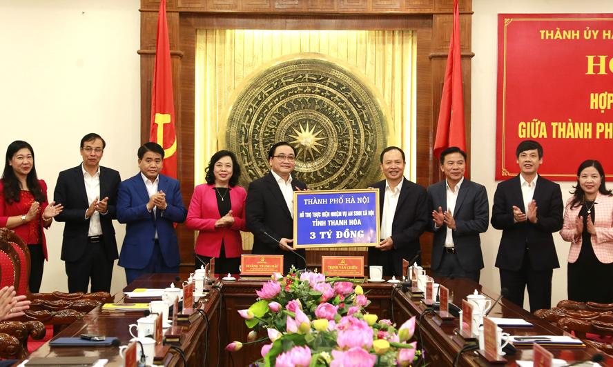 Hà Nội - Thanh Hóa: Mở rộng quan hệ hợp tác trên nhiều lĩnh vực