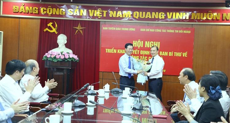 Đồng chí Lê Hải Bình làm Phó Trưởng ban chuyên trách Ban Chỉ đạo Công tác thông tin đối ngoại