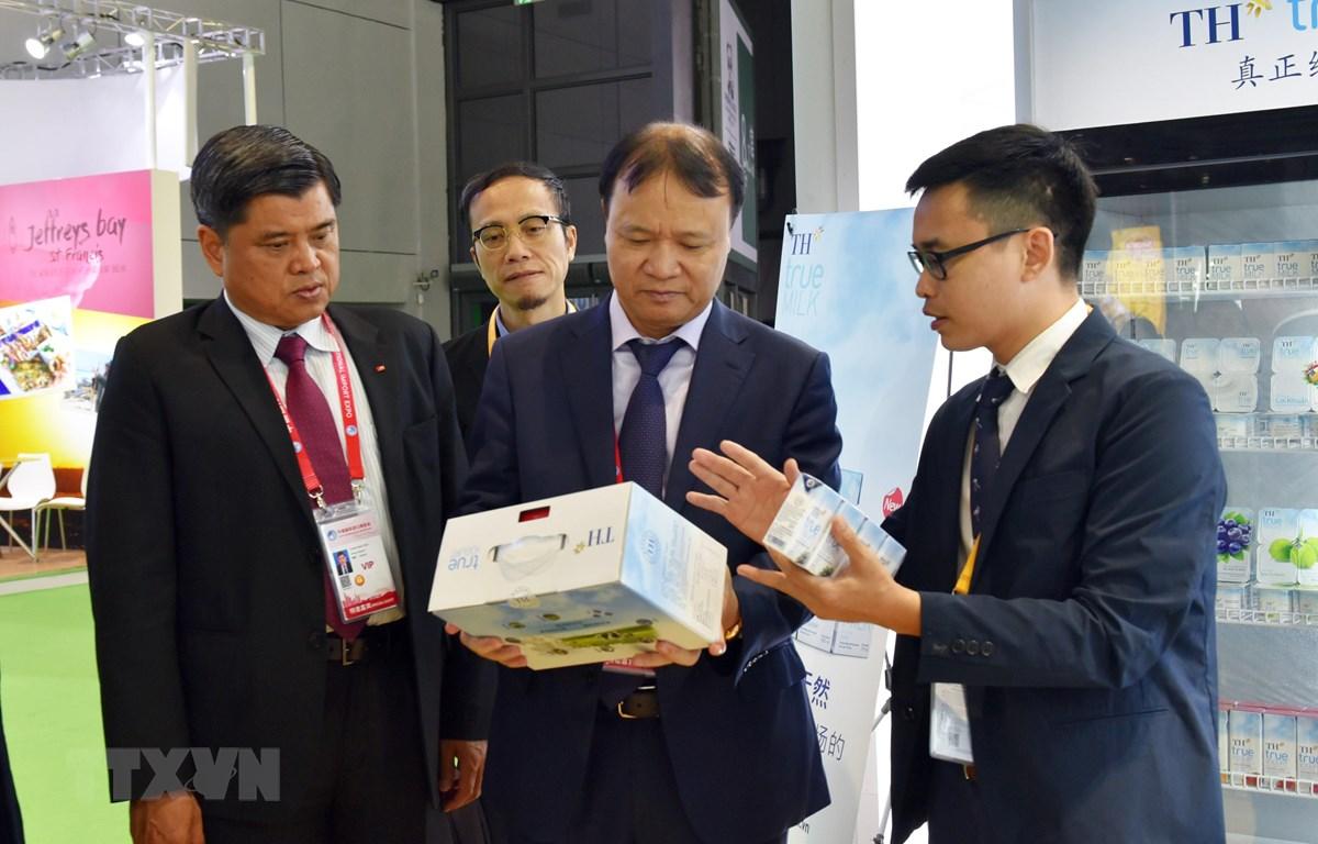 Hơn 30 doanh nghiệp Việt dự Hội chợ nhập khẩu quốc tế Trung Quốc CIIE 2019