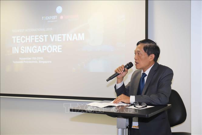 Thúc đẩy kết nối công nghệ và khởi nghiệp sáng tạo Việt Nam - Singapore