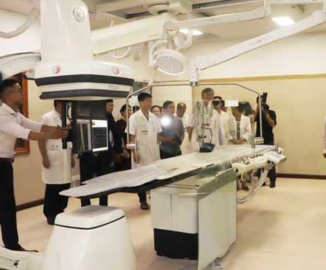 Số lượng bệnh nhân được điều trị bằng kỹ thuật tim mạch can thiệp ngày càng tăng