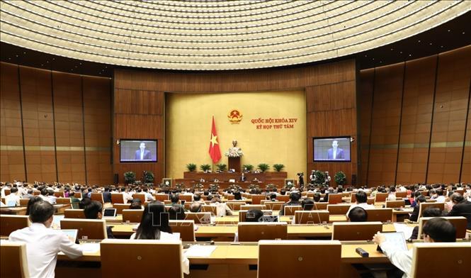 Thông cáo báo chí số 14, Kỳ họp thứ 8, Quốc hội khóa XIV