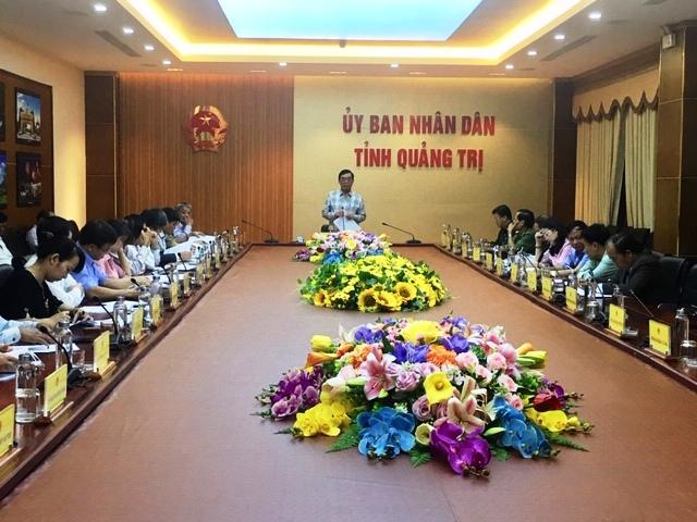 Quảng Trị lấy ý kiến lần 1 dự thảo Báo cáo chính trị trình Đại hội Đảng bộ tỉnh lần thứ XVII