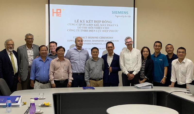 Siemens nâng cấp nhà máy nhiệt điện tại Việt Nam