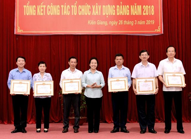 Kiên Giang: Nâng cao chất lượng đội ngũ cán bộ, đảng viên