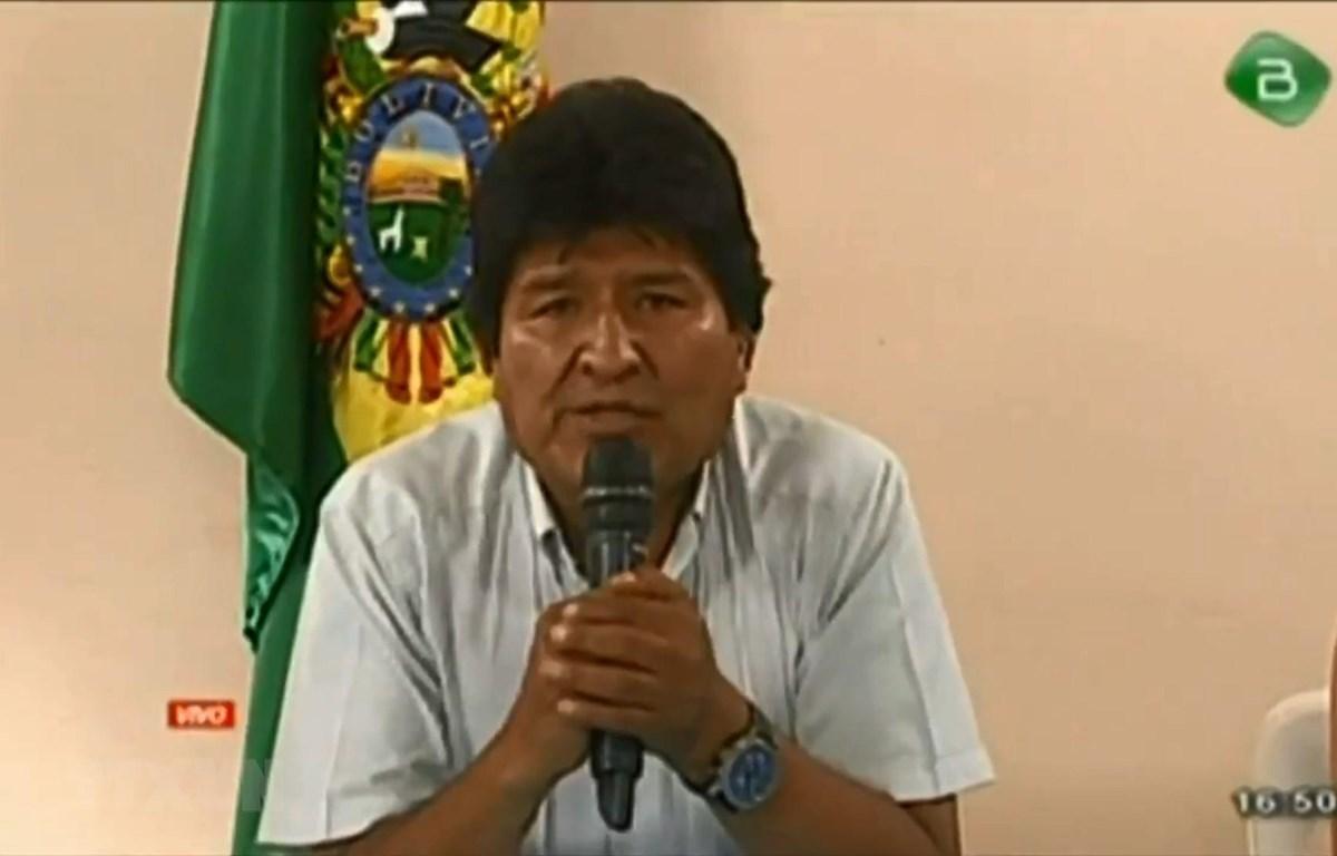 Cựu Tổng thống Bolivia Morales để ngỏ khả năng không tham gia cuộc bầu cử lại