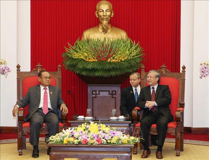 Ưu tiên củng cố và phát triển quan hệ Việt Nam - Campuchia