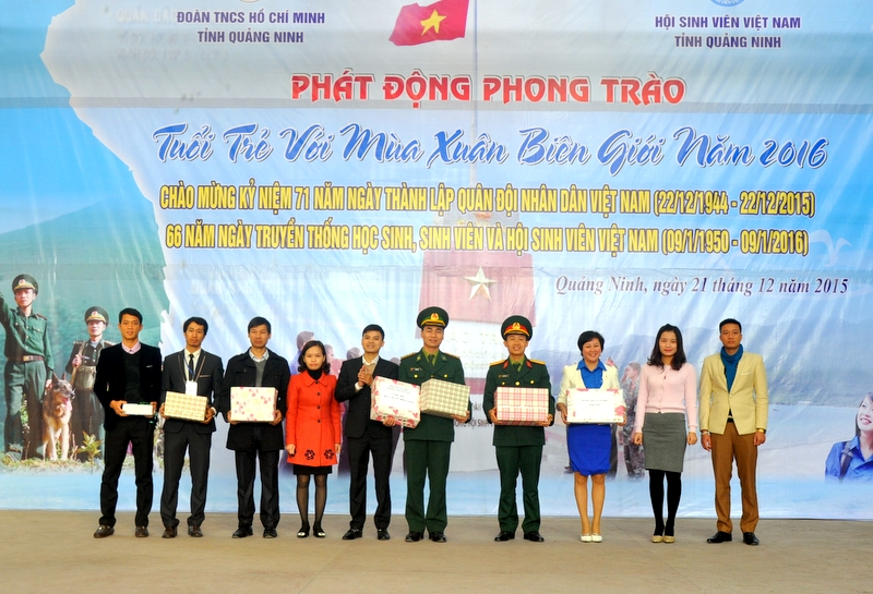 "Quang Ninh province launches ""Youth with spring in border"" movement"