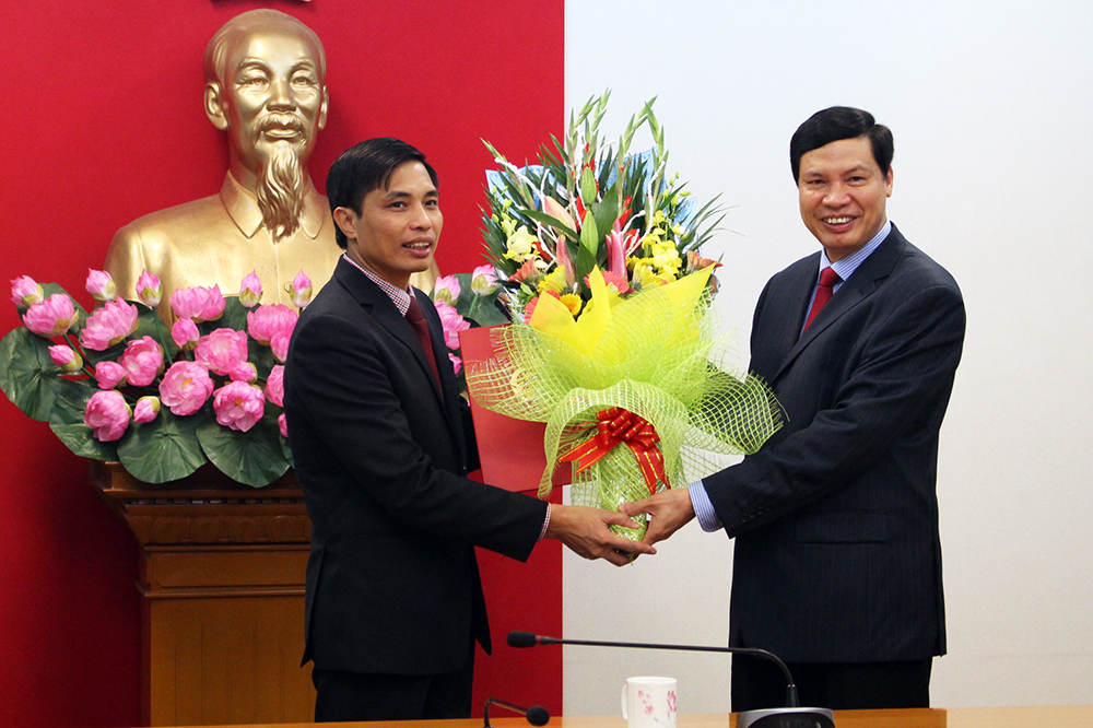 Quang Ninh province has new deputy head of provincial People's Committee
