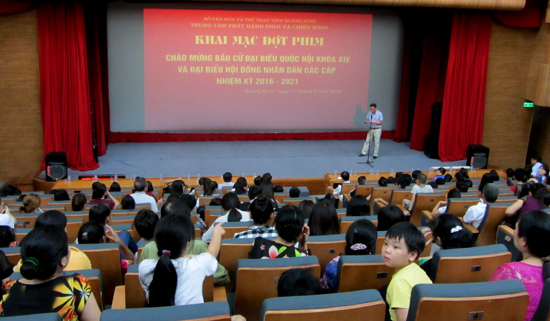 Quang Ninh province screens film series for election