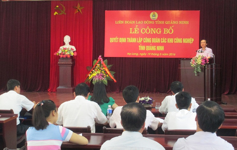 Quang Ninh sets up Labour Union for IZs