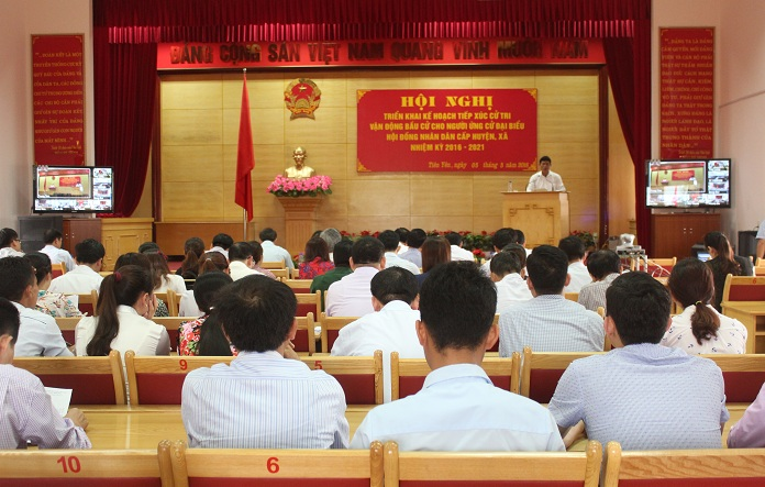 Localities in Quang Ninh ready for meetings with voters